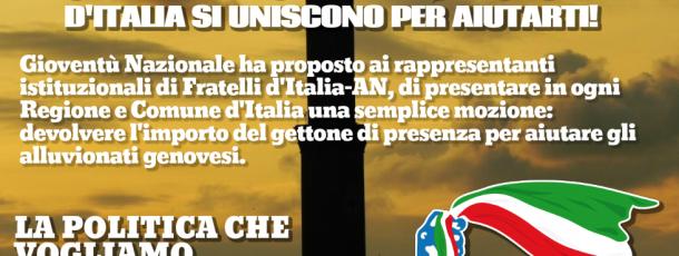 """Genova, Perissa (Gioventù Nazionale): """"Siamo tutti chiamati a dare il nostro contributo"""""""