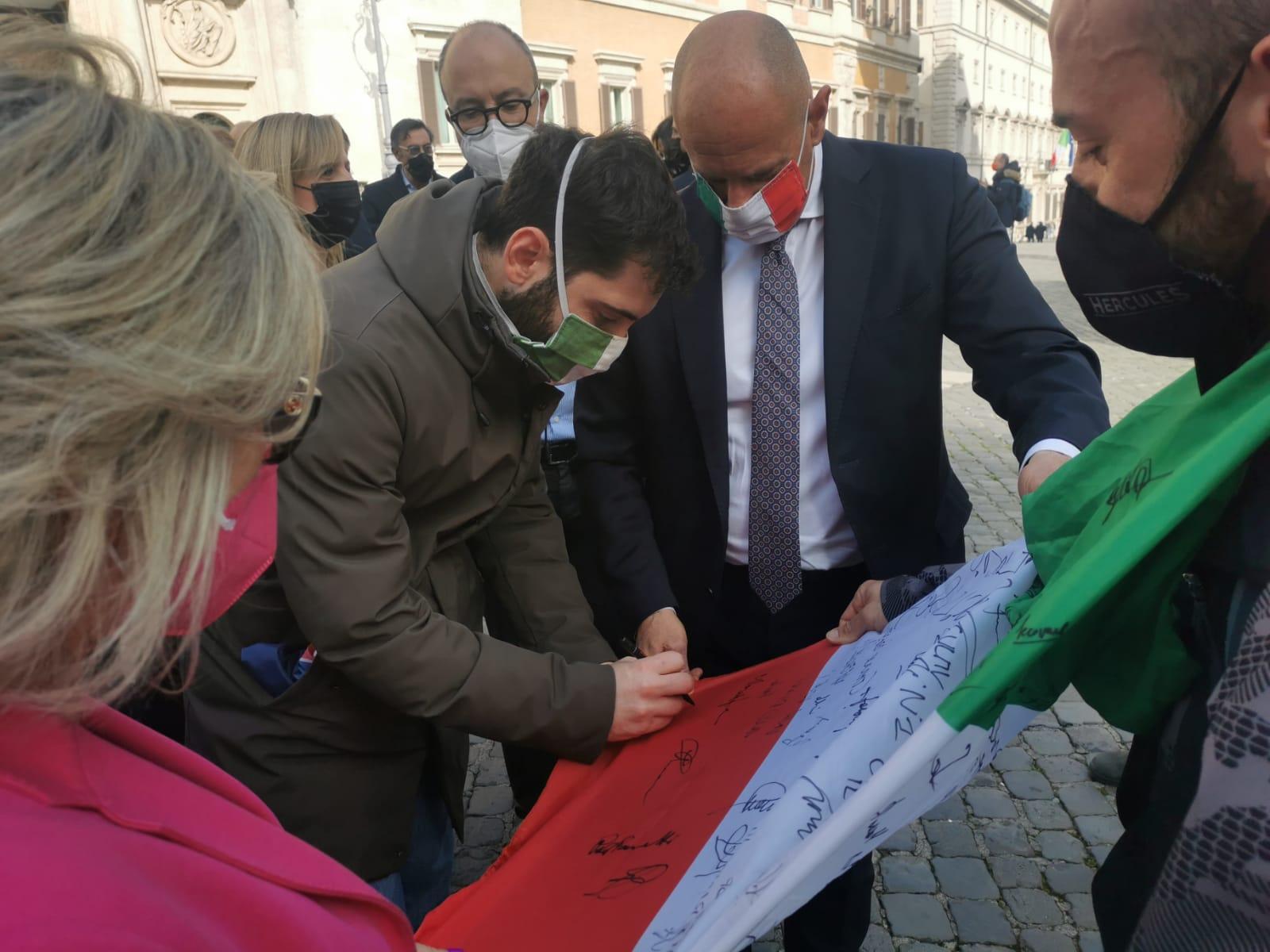 Fabio Roscani, presidente di Gioventù Nazionale, movimento giovanile di Fratelli d'Italia